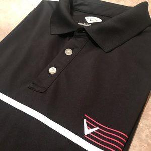 Men's Callaway Polyester Golf Polo Shirt